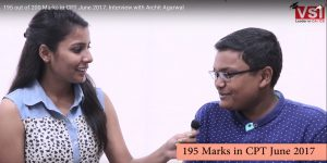 cpt june 2017 topper Archit Agarwal interview