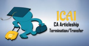 ca articleship termination or transfer