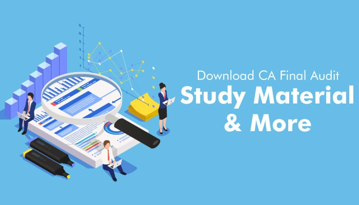 Download CA Final Audit- Study Material and More